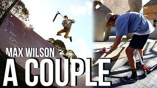 MAX WILSON // A COUPLE