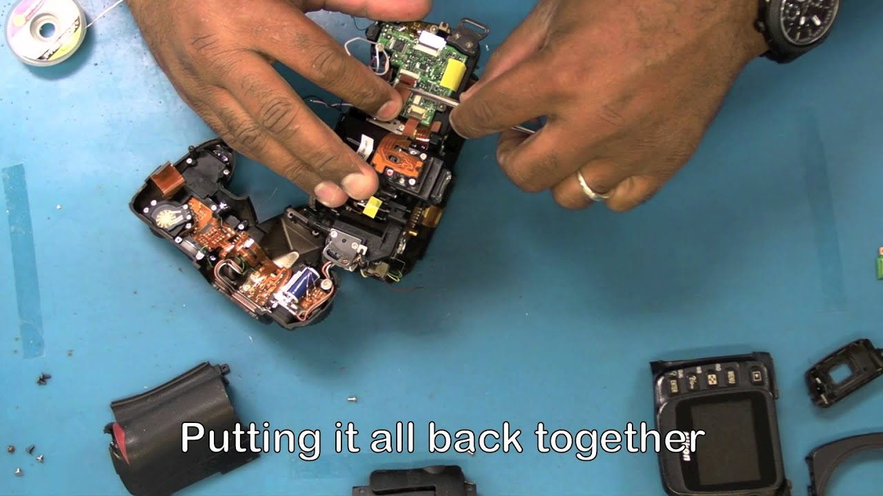 nikon d50 repair shutter aperture control unit replacement youtube rh youtube com nikon d3100 repair manual nikon d3300 repair manual