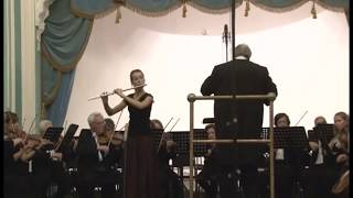"Mercadante flute concerto 3rd. mvt. ""Rondo russo"" Софья Виланд"