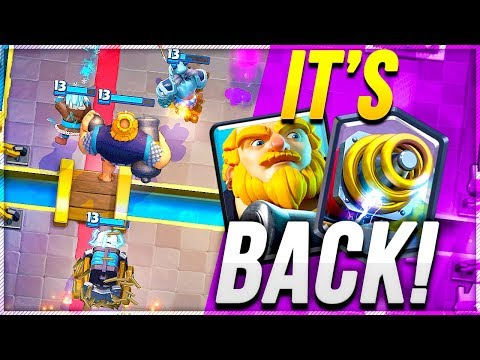 ROYAL GIANT + SPARKY DECK IS AMAZING - Clash Royale