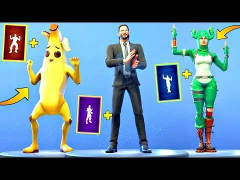 TOP 100 FORTNITE DANCES LOOKS BETTER WITH THESE SKINS #2! (Fortnite Battle Royale)