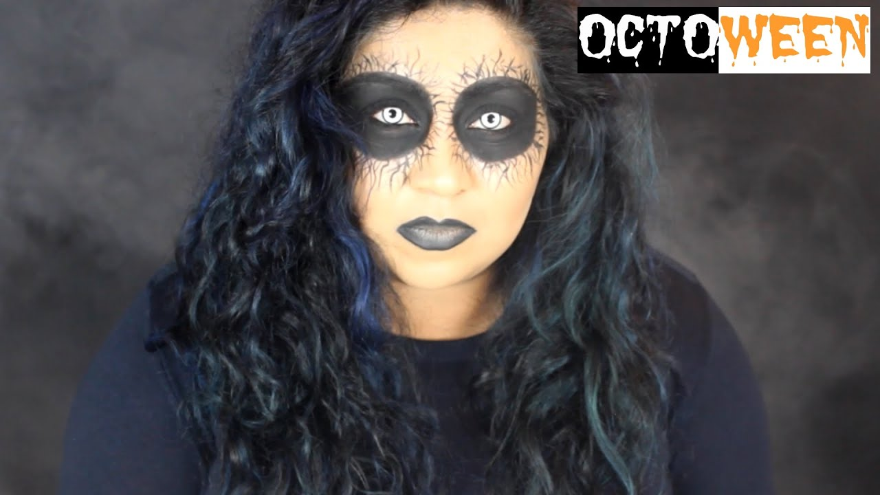 Fallen Angel Halloween Makeup Tutorial / Nishi V | Octoween - YouTube