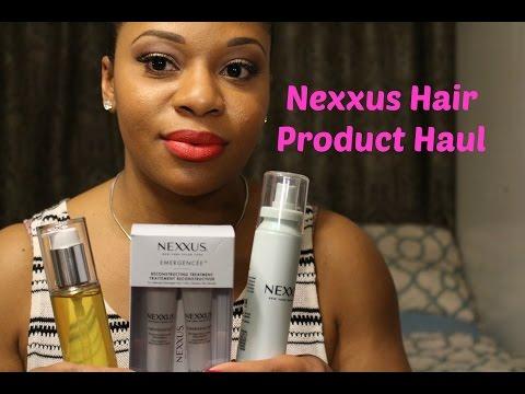 Nexxus Hair Product Haul