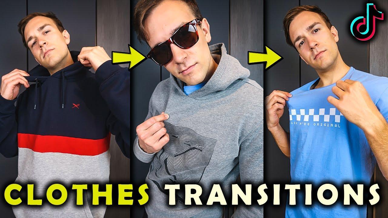 Clothes Transitions Tik Tok Tutorial Youtube