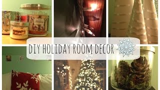 DIY Holiday Room Decor Thumbnail