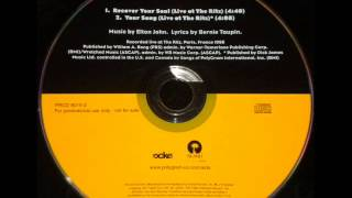 "ELTON JOHN ""RECOVER YOUR SOUL/YOUR SONG"" RITZ 1998"