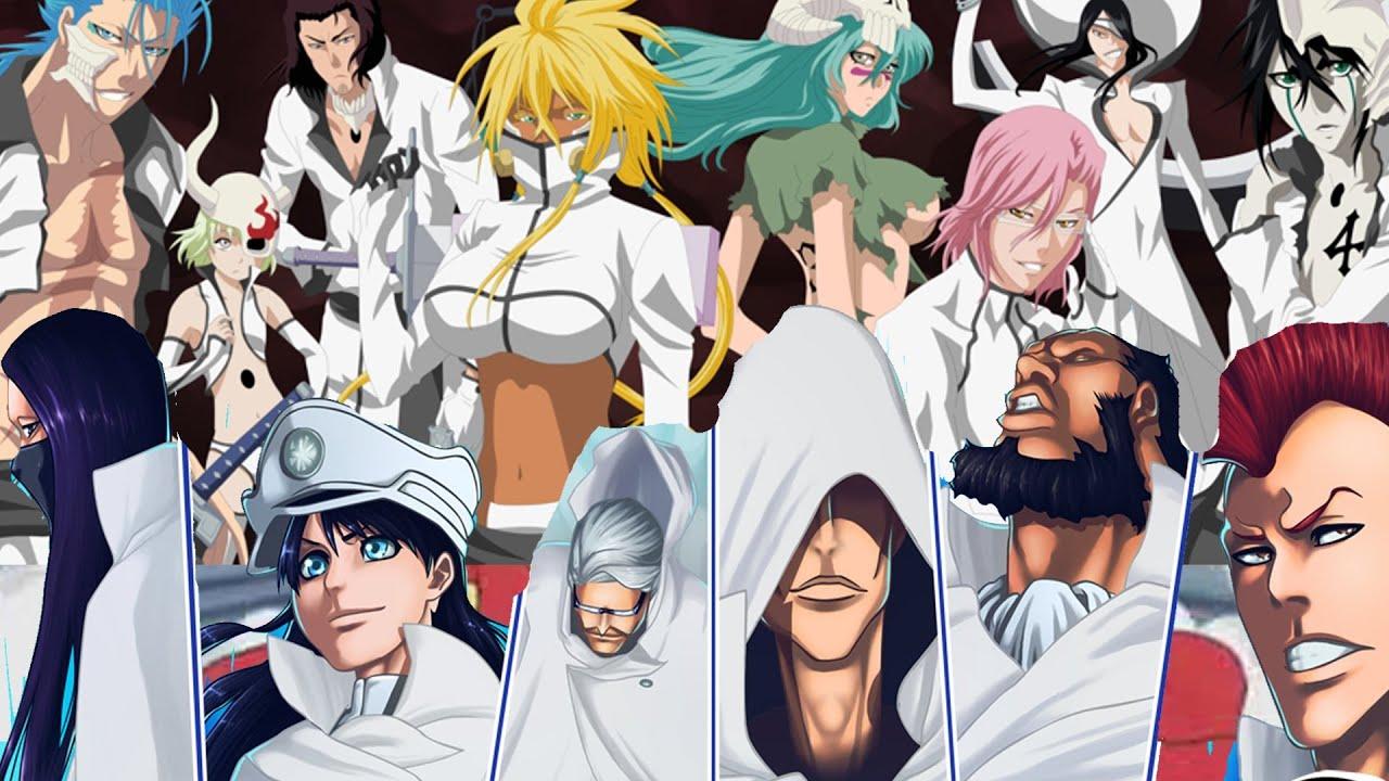 The stern ritter or the espada better villain group in - Bleach espadas ...