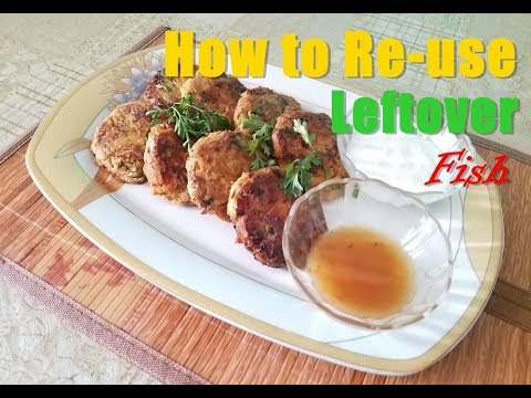 How To Reuse Leftover Fish And Make Yummy Kebab Easily