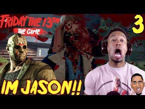I'M JASON BIHHHHH!!! Friday the 13th Gameplay #3