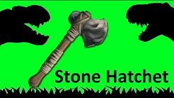 Let´s Craft Ark Stone Hatchet / Axt [German/Deutsch]