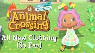 All New Player Clothing So Far In Animal Crossing: New Horizons