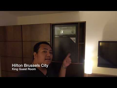 HILTON BRUSSELS CITY REVIEW (KING GUEST ROOM)