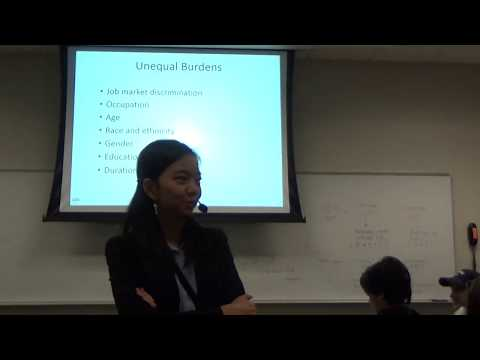 Lecture on 10/05/17: Unemployment, GDP gap, and Okun's law