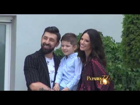 Danijela i Ognjen Amidzic porodično