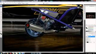 Virtual Tuning Photoshop- Gilera in Enduro (Moto Sasi)