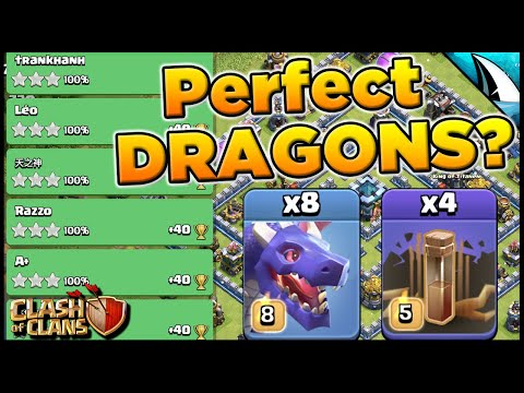 Perfect With Dragons?!? Dragons Are The Strongest Attack Strategy At TH 13 | Clash Of Clans