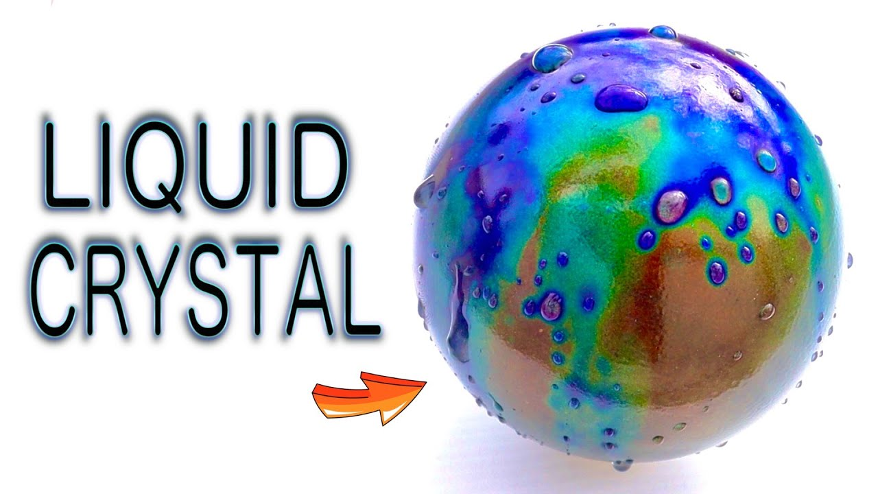 Turning Liquid Crystal and Resin into Art