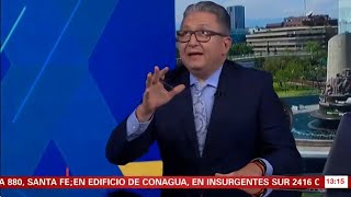 Mexican TV news broadcast interrupted by earthquake