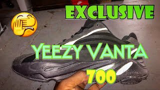 Got The Yeezy Boost 700 v2 Vanta (Black) Early! Exclusive!