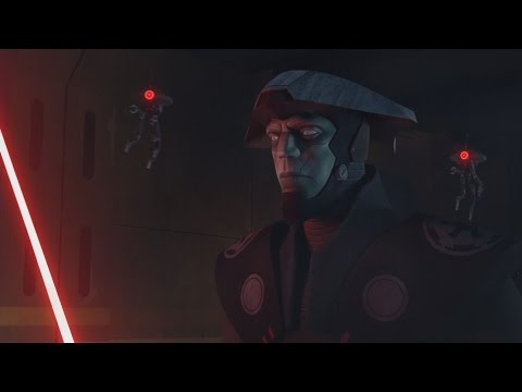 Star Wars Rebels - Sabine & Zeb vs. Fifth Brother [1080p]