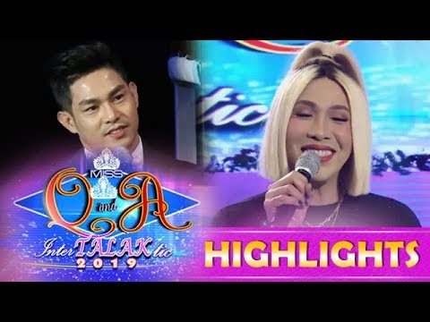 It's Showtime Miss Q and A: Vice stops himself from fluttering