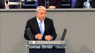 Thomas Strobl widerspricht Wolfgang Thierse in Bezug auf die Charta der deutschen Heimatvertrieben