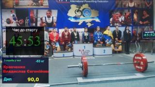Юнаки 53-59кг. Чемпіонат України з класичного пауерліфтингу 2018р
