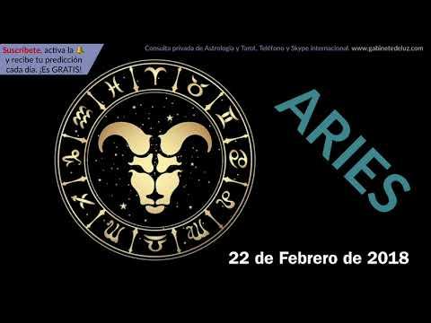Horóscopo Diario - Aries - 22 de Febrero de 2018