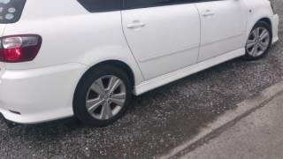 Видео-тест автомобиля Toyota Ipsum (белый, 2AZ-FE, ACM26-0013733)