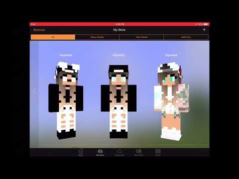 editing minecraft skins lizzie