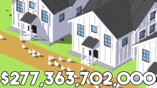 I upgraded until my farm generated $277,363,702,000 per hour in Egg, Inc screenshot 3