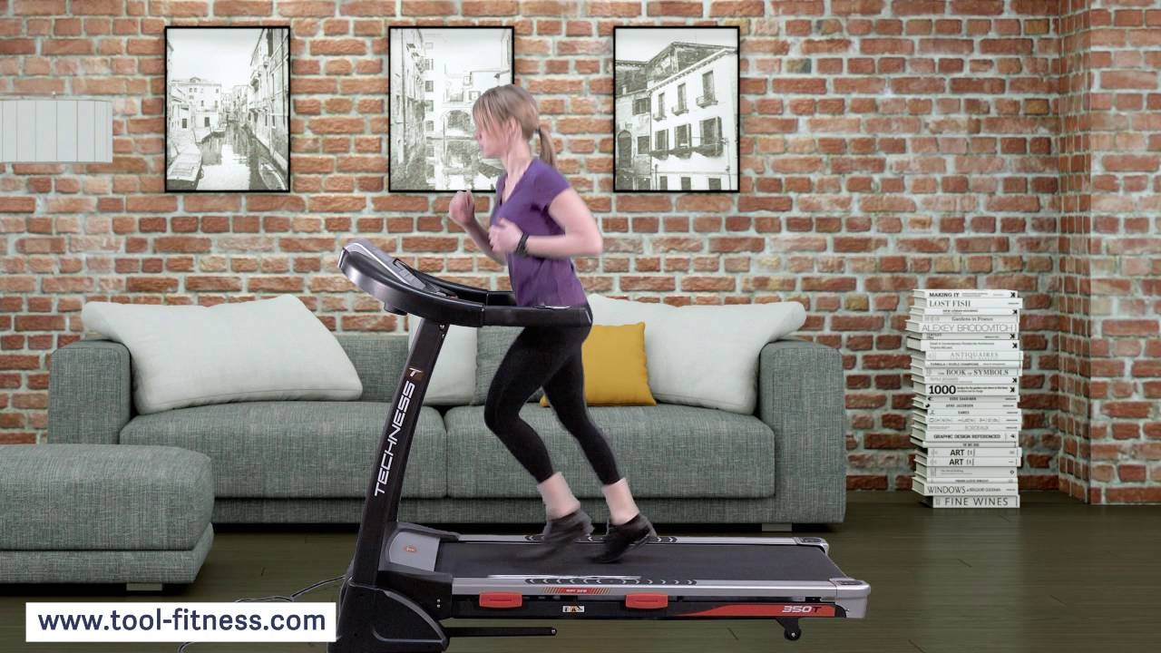 Tapis De Course Techness T350 Mp3 Tool Fitness Youtube