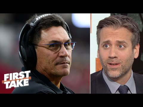 'The Panthers shouldn't have fired Ron Rivera, period!' - Max Kellerman   First Take