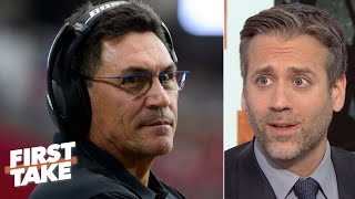 'The Panthers shouldn't have fired Ron Rivera, period!' - Max Kellerman | First Take Video
