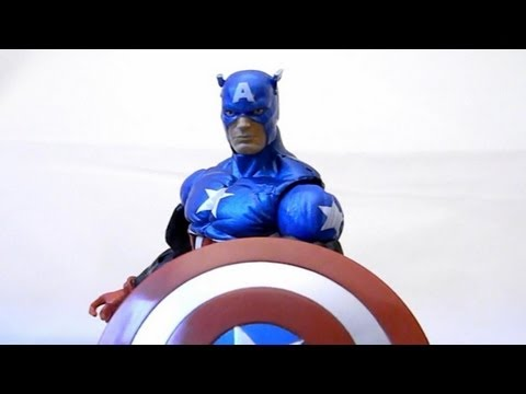 Marvel Legends Captain America (Heroic Age) Review - (Hasbro) Bucky Cap arnim zola