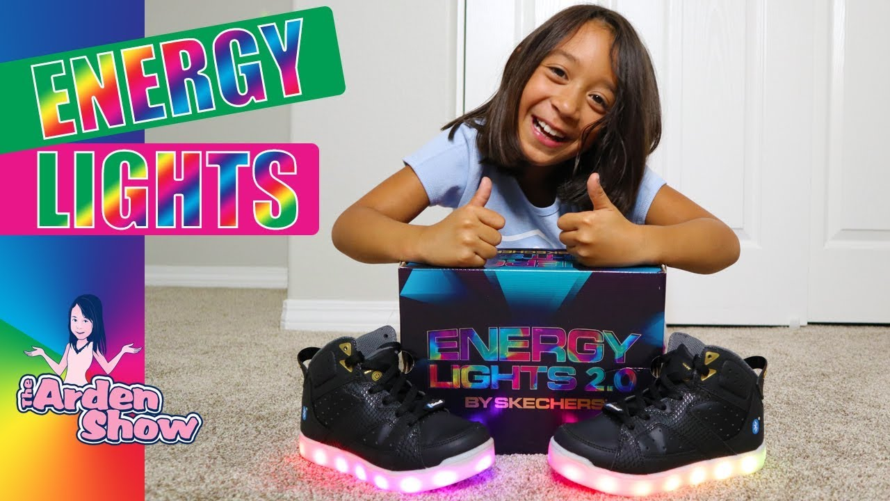 ENERGY LIGHTS 2.0 by Skechers - The BEST light-up shoe ever?