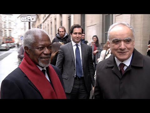 France, Russia, Middle East: interview with Kofi Annan