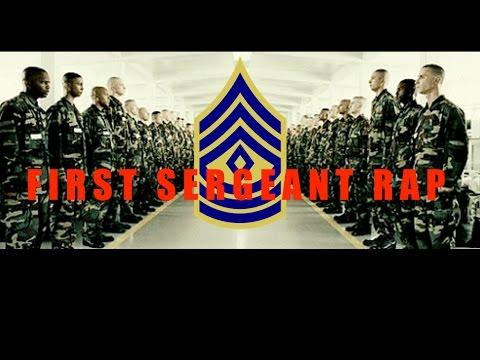 First Sergeant Rap