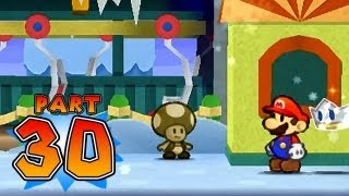 Paper Mario: Sticker Star - Part 30 - W4-4 & W4-5 - Shaved Ice Cave & Whiteout Valley