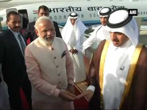 PM Modi arrives in Doha  - ANI News