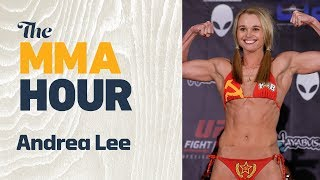 Andrea Lee Discusses Why She Didn't Try Out for TUF 26, Potential for UFC Signing thumbnail