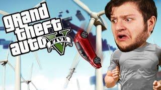 GTA 5 PC Online Funny Moments - WINDMILL DEATH RUN! (Custom Games)