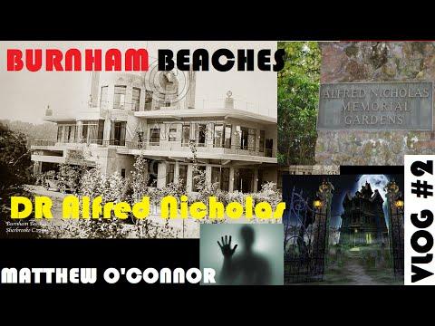 HAUNTED ABANDONED HOUSE!!! Burnham Beaches   VLOG #2