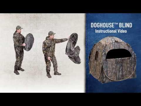 Ameristep - Doghouse® Instructional Setup