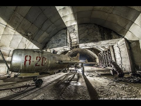 Abandoned Underground Air Bases in Eastern Europe