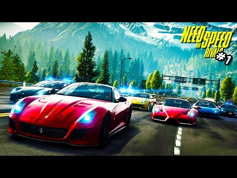 Need for Speed Rivals Walkthrough - Part 1 Let's Play WalkThrough - NFS (Need for Speed)