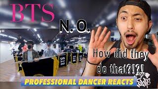 Professional Dancer Reacts to BTS (방탄소년단) 'N.O' Dance Practi…