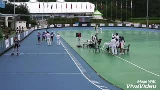 18회 아시아롤러스케이트 선수권 1000m 결승 수안이…