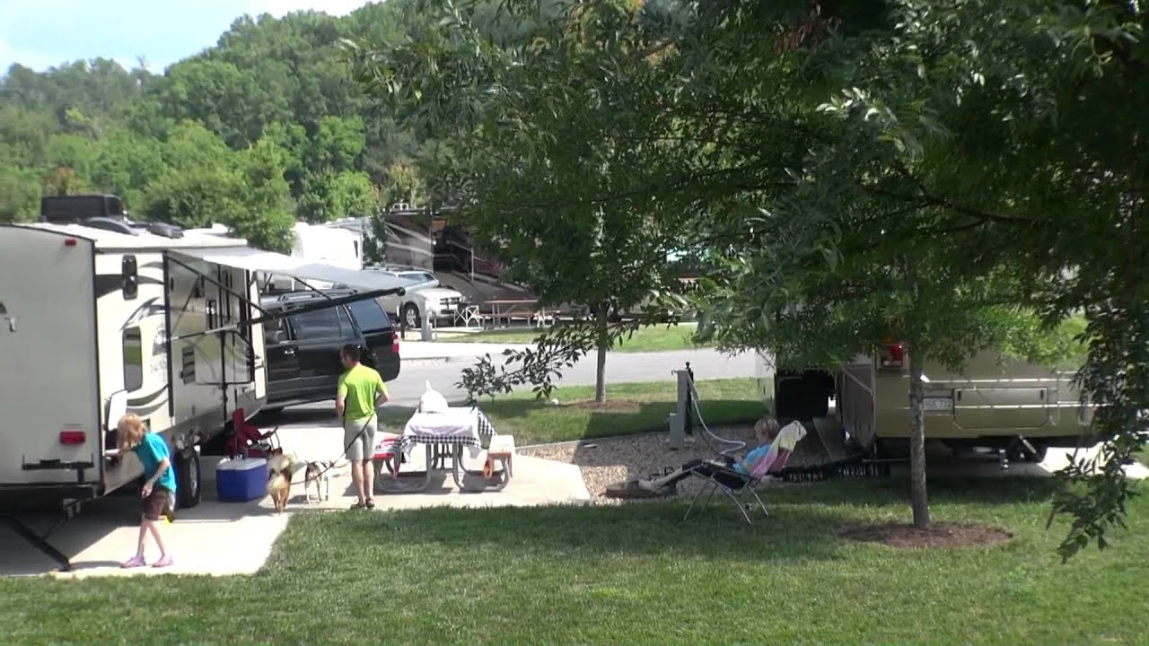 Pine Mountain Rv Park By The Creek Pigeon Forge
