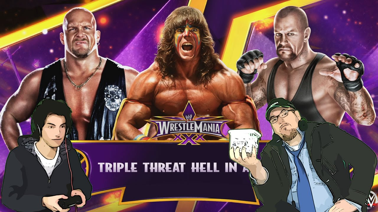 STEVE AUSTIN Vs ULTIMATE WARRIOR Vs UNDERTAKER ...